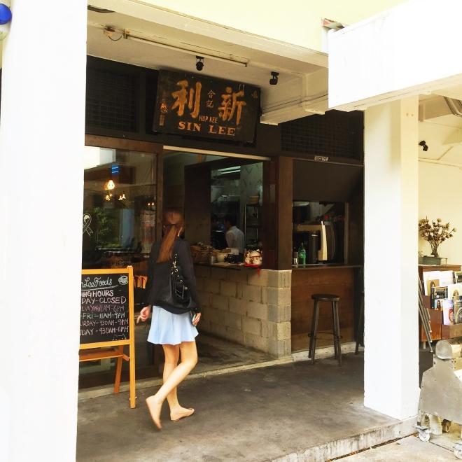 Sin Lee Foods Entrance