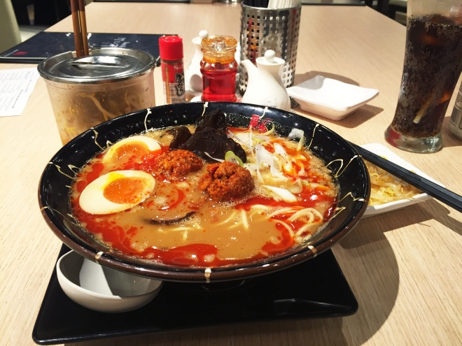 Keisuke Tokyo Spicy Miso Ramen