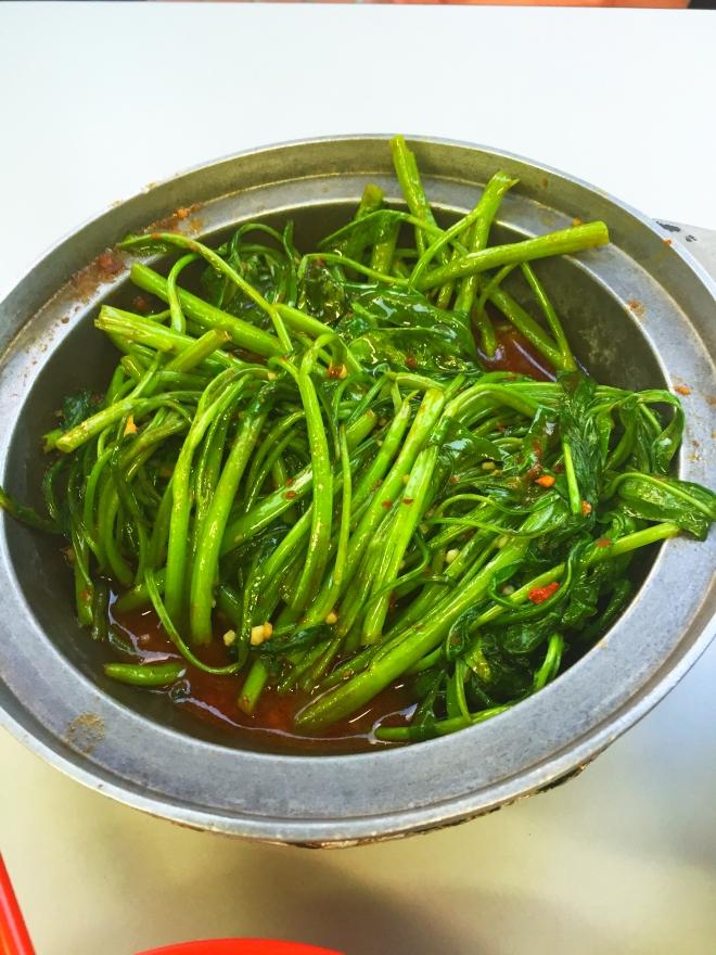Lau Wang Claypot Sambal Kangkong