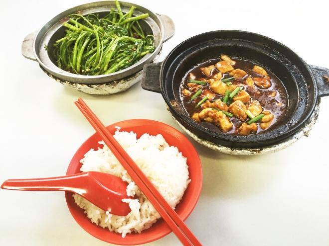 Lau Wang Claypot Spread