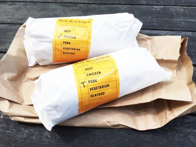 Park Bench Deli Sandwiches