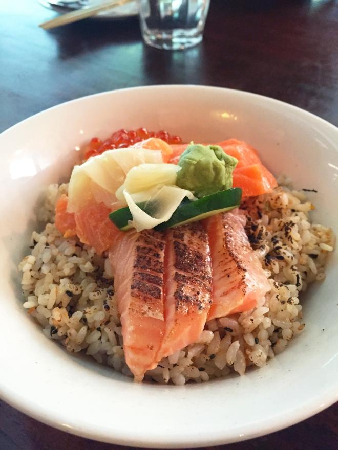 Tanuki Raw Orchard Central Salmon Don