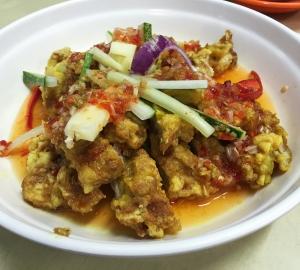 Zhen Da Ji Telok Kurak Thai Style Chicken
