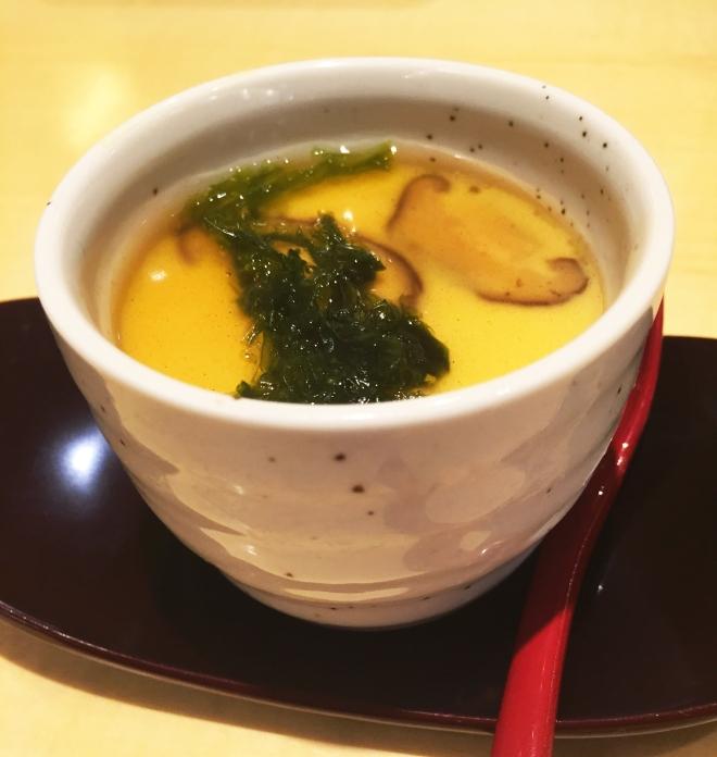 Ginza Tendon Itsuki Tanjong Pagar Chawanmushi