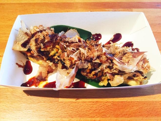 A whirl of sweet and crunchy: Unagi Tofu