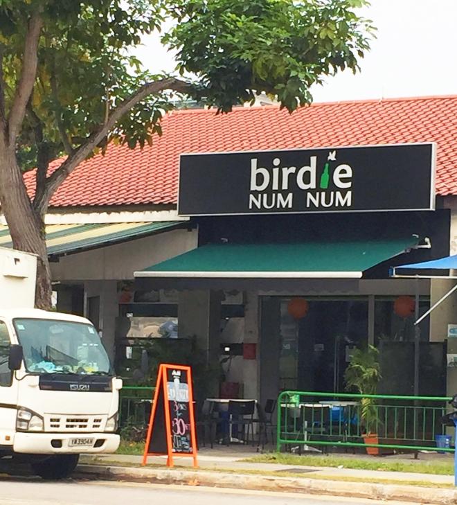 Birdie Num Num Kembangan Exterior