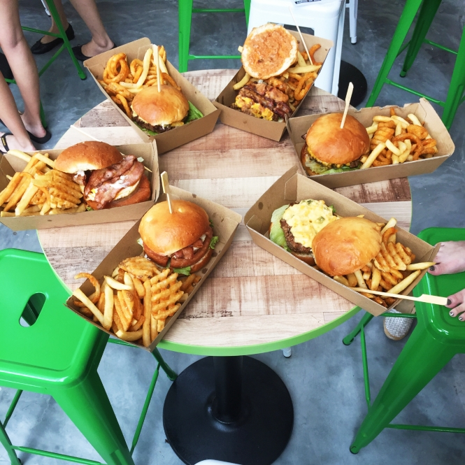 Montana Selegie Road Cornucopia of Burgers