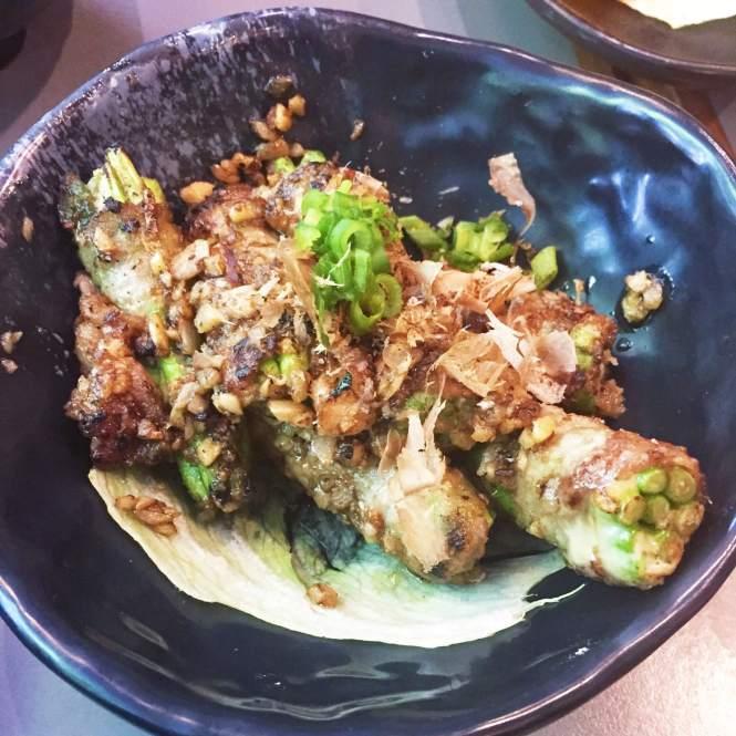 Koh Grill Sushi Bar Wisma Atria Pork Belly Asparagus