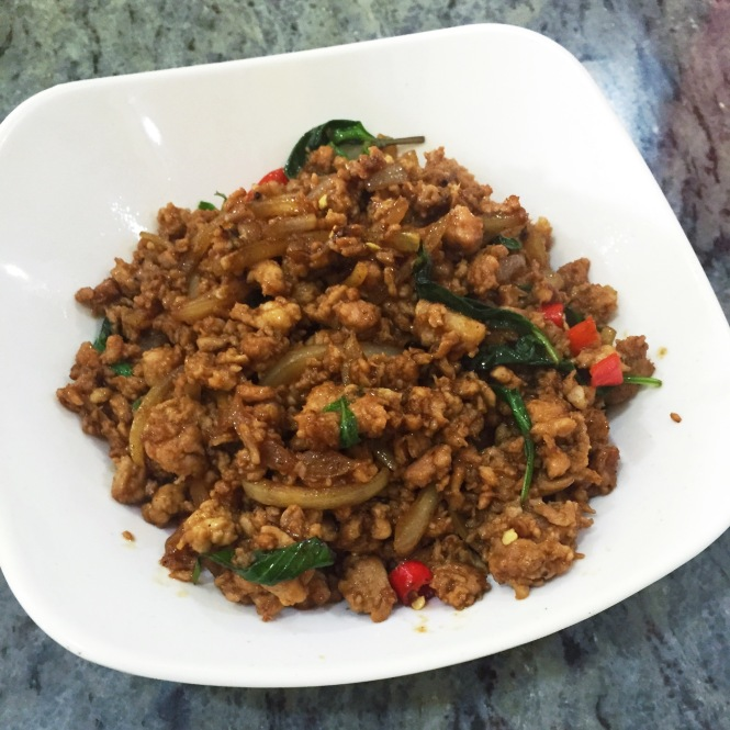 Thai Noodle House Coronation Rd Basil pork