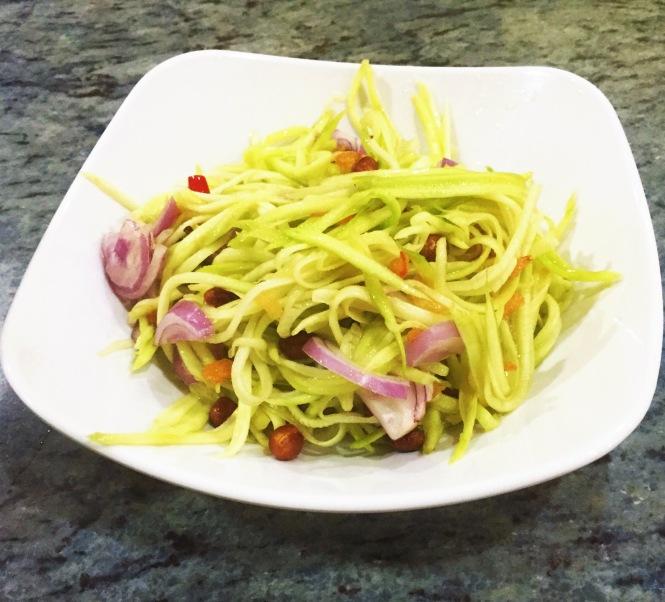 Thai Noodle House Coronation Rd Mango Salad